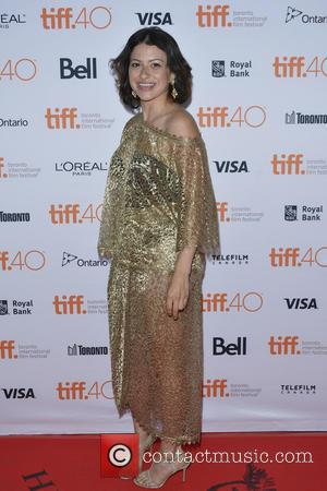 Alia Shawkat - Green Room premiere red carpet arrival at Ryerson Theatre  during the 2015 Toronto International Film Festival....
