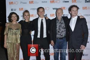Alia Shawkat, Imogen Poots, Jeremy Saulnier, Patrick Stewart and Anton Yelchin