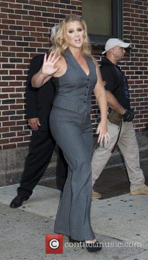 Amy Schumer - Celebrities arrive at 'The Late Show with Stephen Colbert' at Ed Sullivan Theater, The Late Show -...