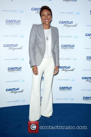Robin Roberts - 2015 Cantor Fitzgerald Charity Day - Arrivals - New York, United States - Friday 11th September 2015