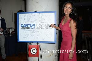 Padma Lakshmi - 2015 Cantor Fitzgerald Charity Day - Arrivals - Manhattan, New York, United States - Friday 11th September...