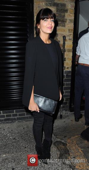 Claudia Winkleman - Celebrities outside Chiltern Firehouse at London - London, United Kingdom - Friday 11th September 2015