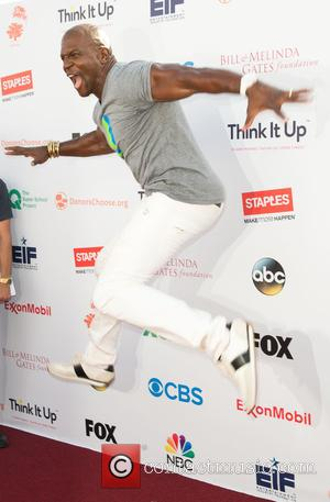 Terry Crews - Entertainment Industry Foundation's 'Think It Up' telecast at Barker Hangar Santa Monica at Barker Hangar in Santa...