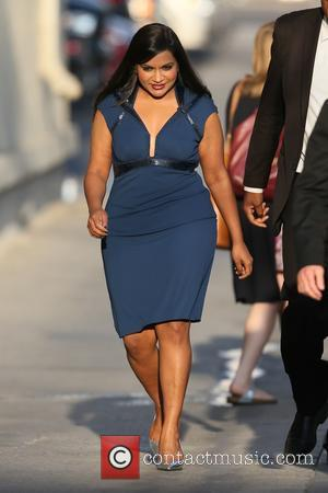 Mindy Kaling - Mindy Kaling spotted at ABC studios for 'Jimmy Kimmel Live!' - Los Angeles, California, United States -...