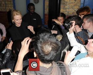 Nicole Kidman - Nicole Kidman leaves the Noel Coward Theatre after her performance in 'Photograph 51' - London, United Kingdom...