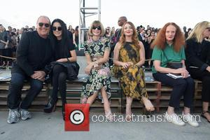 Michael Kors - New York Fashion Week Spring/Summer 2016 - Givenchy - Front Row at Pier 26 Hudson River Park,...