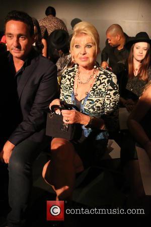 Ivana Trump - New York Fashion Week S/S 2016 - Zang Toi - Front Row at New York Fashion Week...