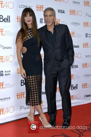 Sandra Bullock , George Clooney - 40th Toronto International Film Festival - 'Our Brand Is Crisis' - Premiere - Toronto,...