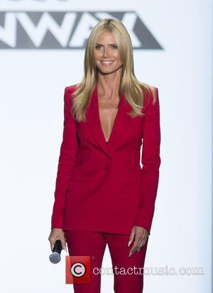 Heidi Klum - 'Project Runway' season 14 finale runway show at NYFW at Moynihan Station - New York, New York,...