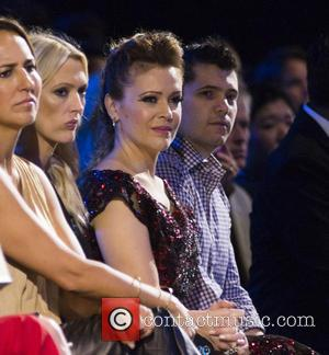 Alyssa Milano - 'Project Runway' season 14 finale runway show at NYFW at Moynihan Station - New York, New York,...
