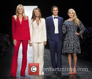 Heidi Klum, Nina Garcia, Zac Posen , Carrie Underwood - 'Project Runway' season 14 finale runway show at NYFW at...