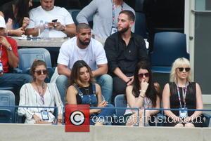 Drake , Natasha Bedingfield - Celebrities attend the Semi-finals of the 2015 Tennis U.S. Open at the USTA Billie Jean...