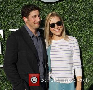 Jason Biggs and Jenny Mollon