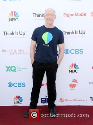 J.K. Simmons - Think It Up Gala for Education Initiative's inaugural live telecast Event at Barker Hangar - Santa Monica,...