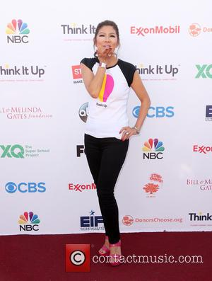Julie Chen - Think It Up Gala for Education Initiative's inaugural live telecast Event at Barker Hangar - Santa Monica,...