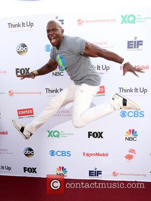 Terry Crews - Think It Up Gala for Education Initiative's inaugural live telecast Event at Barker Hangar - Santa Monica,...