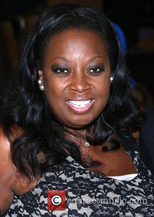 Star Jones - Backstage visit at the Broadway musical Hamilton at the Richard Rodgers Theatre. at Richard Rodgers Theatre, -...