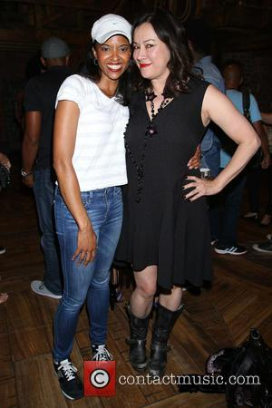 Renee Elise Goldsberry and Jennifer Tilly