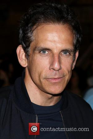 Ben Stiller - Backstage visit at the Broadway musical Hamilton at the Richard Rodgers Theatre. at Richard Rodgers Theatre, -...