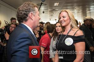 Piers Morgan , Michelle Mone - BGC Annual Global Charity Day held at Canary Wharf. - London, United Kingdom -...