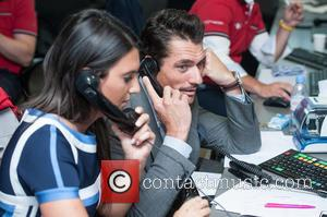 David Gandy - BGC Annual Global Charity Day held at Canary Wharf. - London, United Kingdom - Friday 11th September...