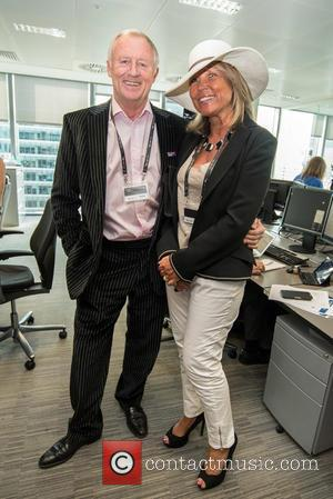 Chris Tarrant , Jane Bird - BGC Annual Global Charity Day held at Canary Wharf. - London, United Kingdom -...