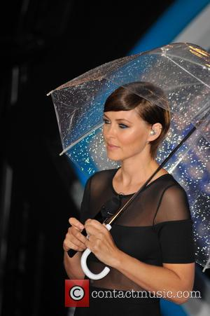 Emma Willis - 'Celebrity Big Brother' eviction at Elstree Studios at Elstree Studios, Celebrity Big Brother - London, United Kingdom...