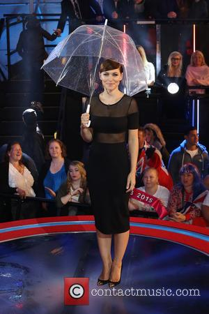 Emma Willis - 'Celebrity Big Brother' eviction at Celebrity Big Brother - Borehamwood, United Kingdom - Friday 11th September 2015