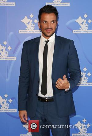 Peter Andre - The National Lottery Awards 2015 held at the London Studios - Arrivals - London, United Kingdom -...