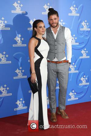 Stephanie Davis , Sam Reece - The National Lottery Awards 2015 held at the London Studios - Arrivals - London,...