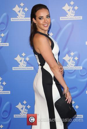 Stephanie Davis - The National Lottery Awards 2015 held at the London Studios - Arrivals - London, United Kingdom -...