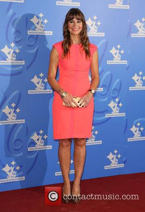 Ellie Crisell - The National Lottery Awards 2015 held at the London Studios - Arrivals - London, United Kingdom -...
