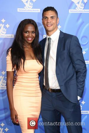 Otlile Mabuse , Anthony Ogogo - The National Lottery Awards 2015 held at the London Studios - Arrivals - London,...