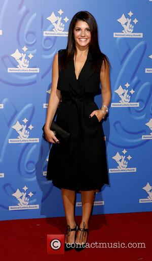Natalie Anderson - National Lottery Stars 2015 held at The London Studios - Arrivals - London, United Kingdom - Friday...