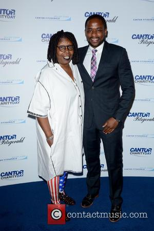 Whoopi Goldberg and Dule Hill