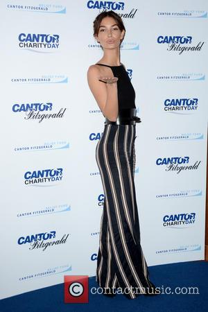 Lily Aldridge - 2015 Cantor Fitzgerald Charity Day - Arrivals - Manhattan, New York, United States - Saturday 12th September...
