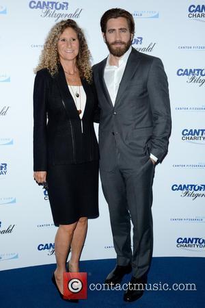 Edie Lutnick and Jake Gyllenhaal