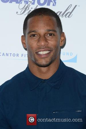 Victor Cruz - 2015 Cantor Fitzgerald Charity Day - Arrivals - Manhattan, New York, United States - Saturday 12th September...