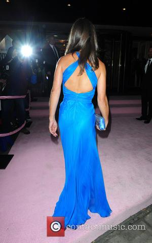 Pippa Middleton - Pippa Middleton arrives at the Boodles Boxing Ball in an electric blue dress and Tom Kingston as...