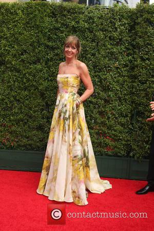 Allison Janney - 2015 Primetime Creative Emmy Awards - Red Carpet Arrivals at Microsoft Theater at LA Live, Emmy Awards...