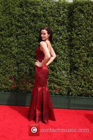 Annie Wersching - 2015 Primetime Creative Emmy Awards - Red Carpet Arrivals at Microsoft Theater at LA Live, Emmy Awards...