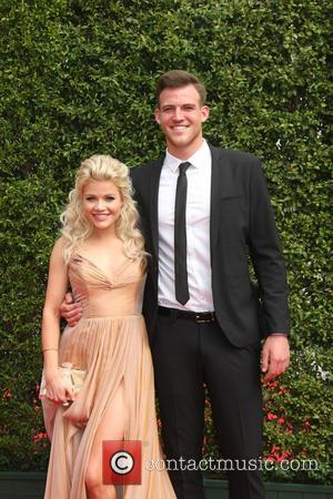 Witney Carson , Carson Mcallister - 2015 Primetime Creative Emmy Awards - Red Carpet Arrivals at Microsoft Theater at LA...