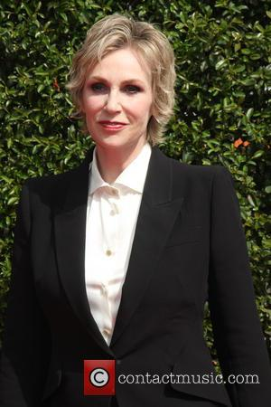 Jane Lynch - 2015 Primetime Creative Emmy Awards - Red Carpet Arrivals at Microsoft Theater at LA Live, Emmy Awards...