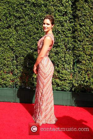 Katharine McPhee - 2015 Primetime Creative Emmy Awards - Red Carpet Arrivals at Microsoft Theater at LA Live, Emmy Awards...