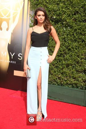 Nina Dobrev - 2015 Primetime Creative Emmy Awards - Red Carpet Arrivals at Microsoft Theater at LA Live, Emmy Awards...