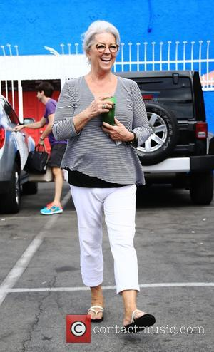 Paula Deen - Celebrities at the 'Dancing With The Stars' rehearsal studio in Hollywood at DWTS rehearsal studio - Los...