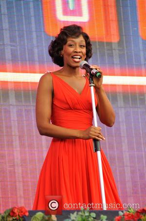 Beverley Knight - BBC Proms in the Park 2015 in Hyde Park - Performances at Hyde park - London, United...