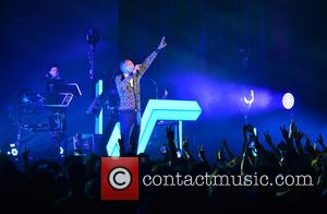 Stromae - Stromae performs live in concert at the James L. Knight Center at James L Knight Center - Miami,...
