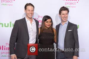Ike Barinholtz , Mindy Kaling - Premiere of Hulu's 'The Mindy Project' - Arrivals at West Hollywood - Los Angeles,...