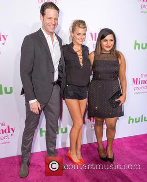 Ike Barinholtz, Eliza Coupe , Mindy Kaling - Premiere of Hulu's 'The Mindy Project' - Arrivals at West Hollywood -...